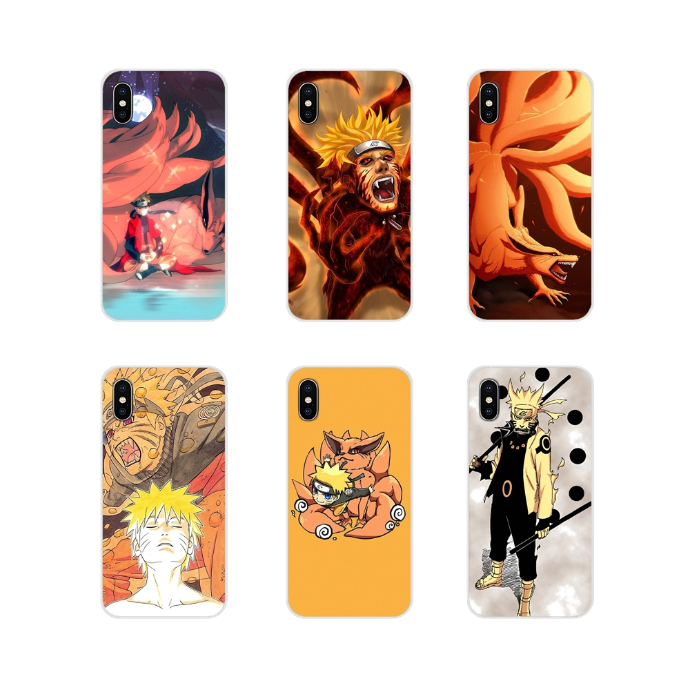 Nine Tailed Demon Fox Naruto Transparent Soft Cases For Oneplus 3T 5T 6T Nokia 2 3 5 6 8 9 230 3310 2.1 3.1 5.1 7 Plus 2017 2018 image