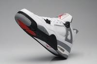 Free Shipping JORDAN Basketball Shoes High Top Sneakers Cushion Basketball Shoes Jordan 4 For Men And