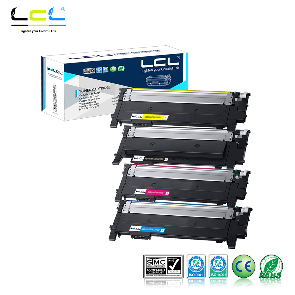 LCL CLT 404S CLT K404S CLT C404S CLT M404S CLT Y404S 4 Pack Toner Cartridge for