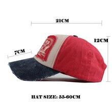 Cotton Casual Snapback Baseball Cap