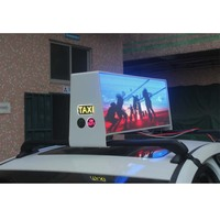 P2.5 Taxi Top Display 3G/4G/WIFI/ Ethernet/ USB taxi top advertising led display screen led taxi top display