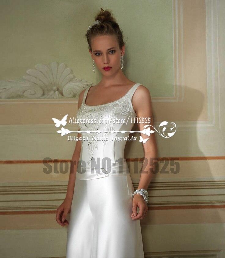 3278d9f06a7d AWP 1058 elegante tuta abito da sposa con la mano che borda bianco morbido  raso da sposa pantaloni in AWP-1058 elegante tuta abito da sposa con la  mano che ...
