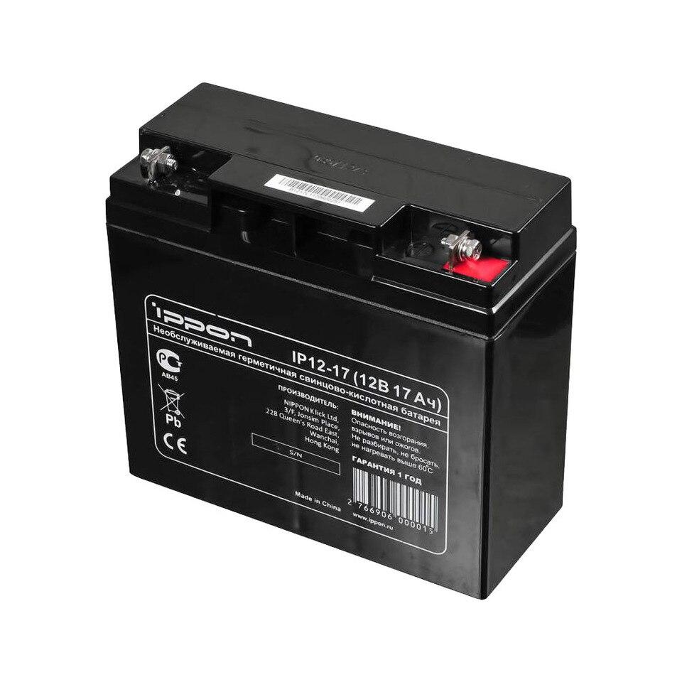 Купить со скидкой Батарея для ИБП Ippon IP12-17