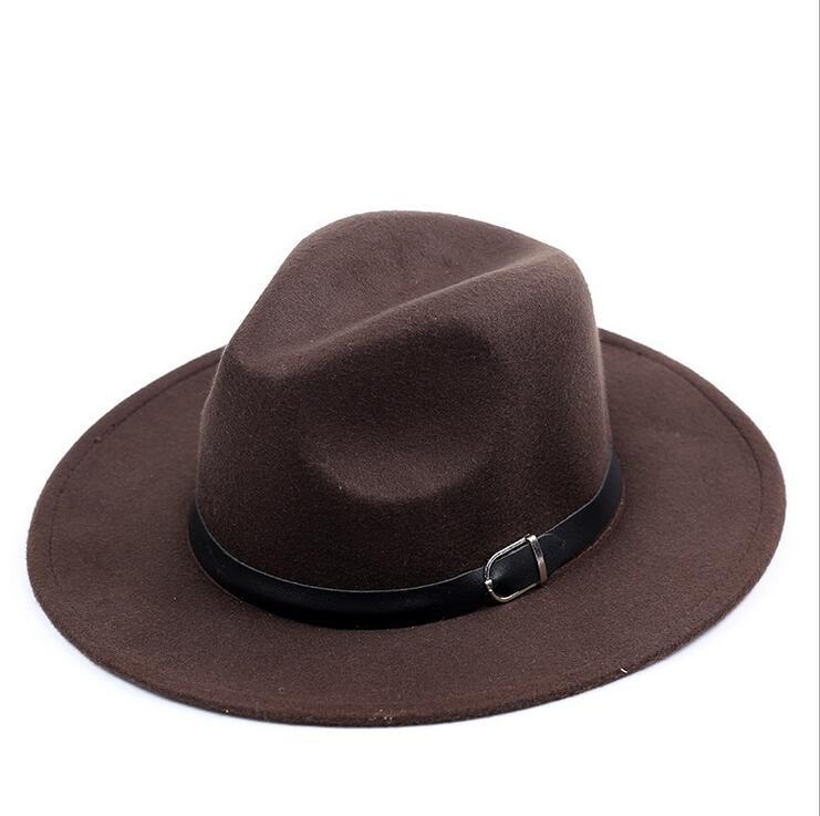 54cefc00478feb chapeu feutre Design Women's Chapeu Feminino Fedora Hat For Laday Wide Brim  Sombreros Jazz Church Cap Panama Fedora top hat ~ Best Deal July 2019