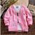 Envío libre 2017 la Primavera y el Otoño bebé niño cardigan de punto, suéter Del Bebé, suéter del algodón del niño del bebé prendas de vestir exteriores