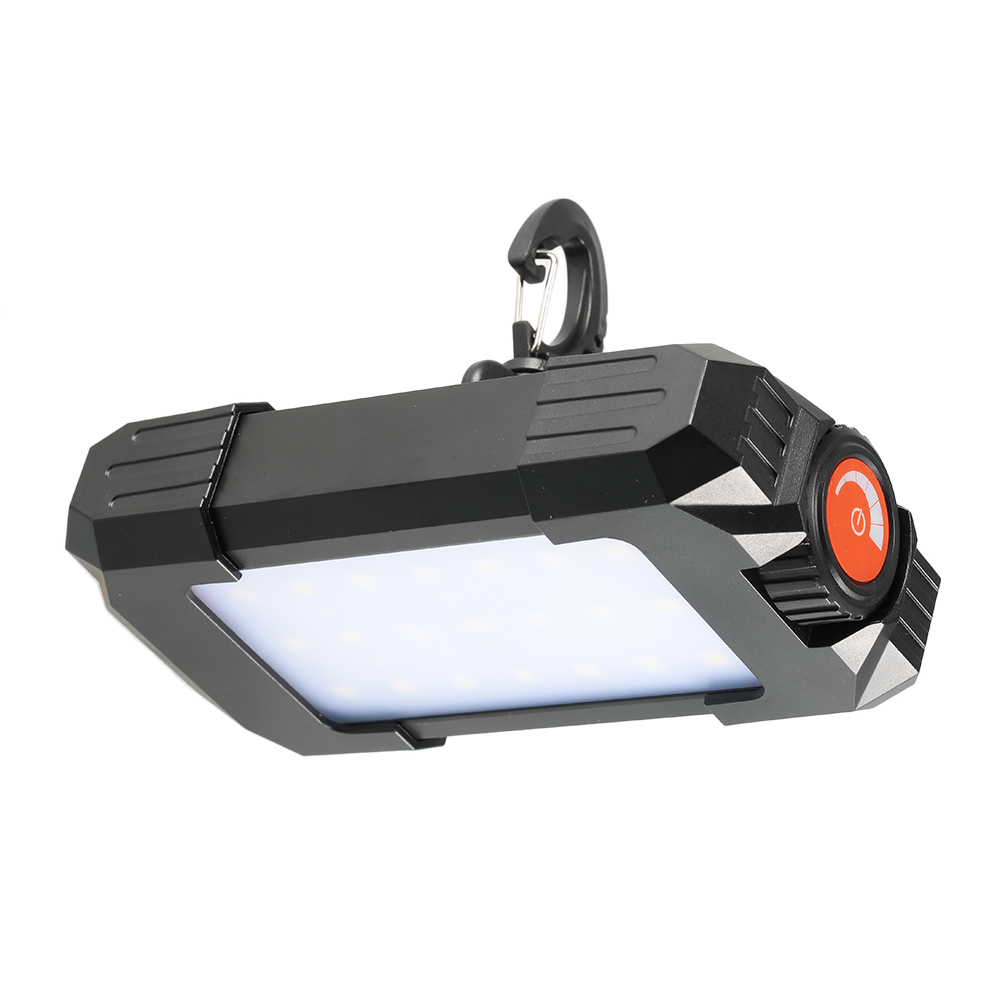 10W 500LM Camping Tent Light Outdoor Rechargeable Portable 27 LEDs Lantern Lamp Flasher Flashlight Lantern Light with USB Hook