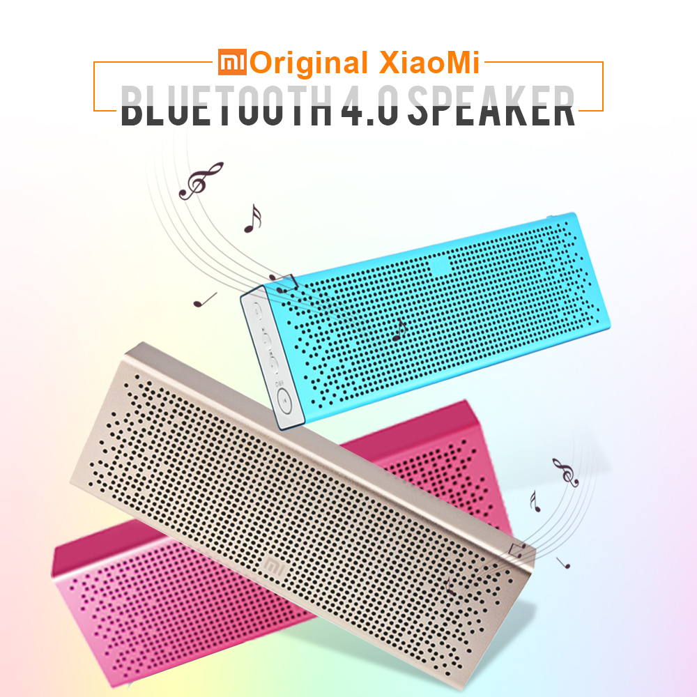Original Xiaomi Mi Speaker Wireless Mini Speaker Micro SD TF Card Aux in BT4.0 for IPhone and Android Phones Portable Handfree original xiaomi mi bluetooth speaker portable wireless mini speaker micro sd card aux in bt4 0 for iphone and android phones
