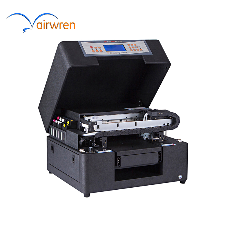 Factory Price Airwren Flatbed LED 160mmx297mm UV Printer For Batch Production Phone Case