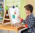 Discovery kids Деревянный 3 в 1 Настольный Мольберт Детей чертежной доске дети цвет двусторонняя магнитный альбом и Доска