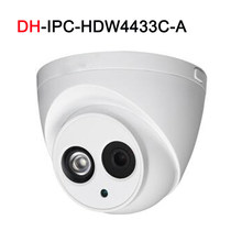 4MP IP camera IPC-HDW4433C-A POE network Build-in Mic IR 30M security CCTV Dome camera(China)