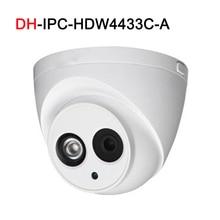 4MP IP камера IPC-HDW4433C-A POE сетевой Встроенный микрофон ИК 30 м видеонаблюдения купольная камера
