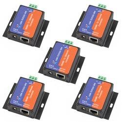 Q14870-5 5 stücke USR-TCP232-304 Serielle RS485 zu TCP/IP Ethernet Server Converter Modul mit Eingebaute Webseite DHCP/DNS Unterstützt