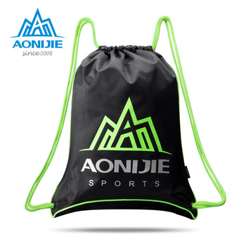 2018 AONIJIE H935 H936 Unisex bolsa de gimnasio con cordón mochila bolsa para deportes al aire libre Fitness entrenamiento