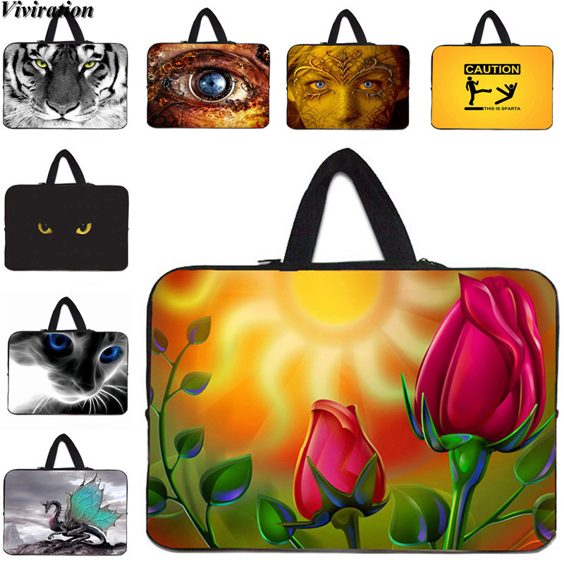 Viviration Handbag Carry 17.3 Inch Laptop Cover 13.3 7 10 12 13 14 15 15.6 Inch Women Girls Notebook Bag For Apple iPad Mini PC
