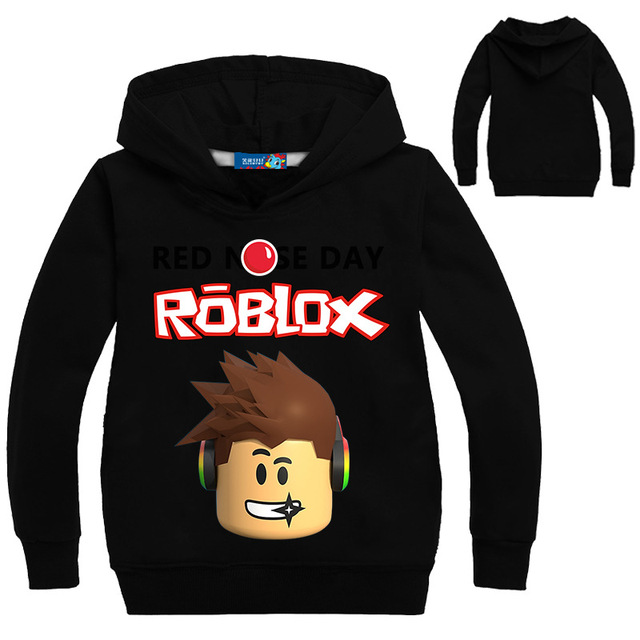 Spring Autumn Roblox Hoodies Sweatshirt T-shirt Kids Boys Sweatshirt Girls  Clothing Red Nose Day Hodied Long Sleeve Tees Tops 100be4e3ae2fc
