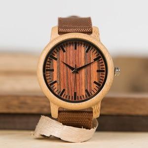 Image 5 - Мужские наручные часы BOBO BIRD WD10, роскошные часы от топ бренда, Дизайнерские деревянные часы, роскошные бамбуковые часы, Подарочная коробка, OEM