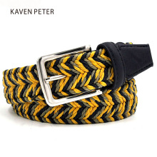 2016 The Newest Fashion Man Braided Belt Men's Golf Braided Belts With Wax Rope Material Mixed Color Free Shipment