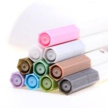 4PCS Kawaii Water Chalk Pen Watercolor Paintbrush Office Art Supplies 10 Color Available