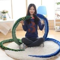 Azoo Simulation Snake Cloth Toy Soft Stuffed Dolls Birthday Gifts Baby Funny Plush Toy long 280cm Snake Plush Toy