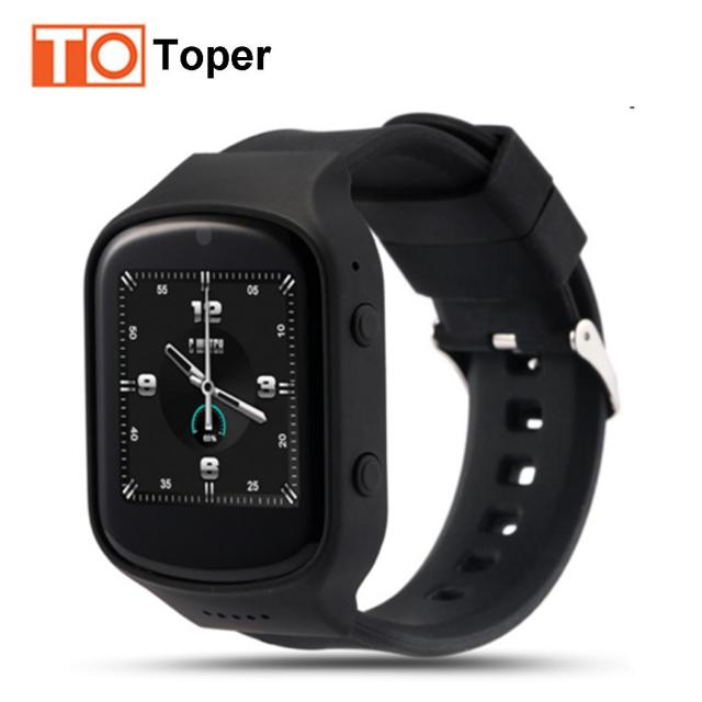 Toper Bluetooth Smart Watch Z80 Android OS 5.1 Smartwatch MTK6580 Quad Core 3 Г Wifi GPS Google Play Store Сердечного ритма монитор