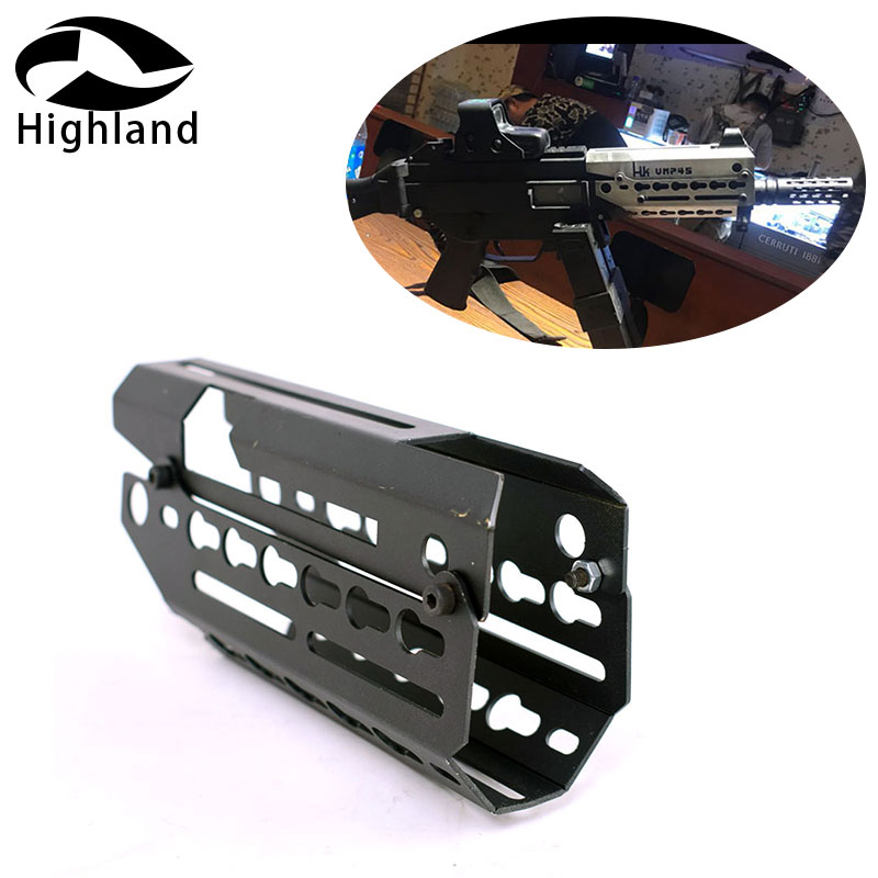 Hunting Accessories Two-piece Drop In Free Float Keymod Handguard Mount Scope Sight Mount for Airsoft H&K UMP 45 Hunting CazaHunting Accessories Two-piece Drop In Free Float Keymod Handguard Mount Scope Sight Mount for Airsoft H&K UMP 45 Hunting Caza