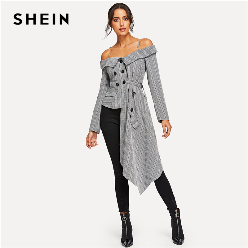 shein-going-out-grey-cold-shoulder-asymmetric-hem-plaid-blazer-office-lady-long-sleeve-coat-women-autumn-elegant-outerwear