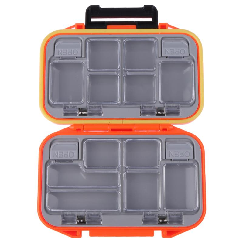 Fishing Tackle Boxes 12 Compartments Waterproof Lure Hook Bait Fishing Tackle Storage Box Case Double Side Fish Pocket box BAG