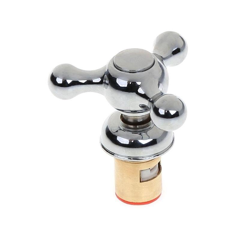 US $2.44 24% СКИДКА|1 комплект, кухонный кран для раковины, смеситель для воды, аксессуары, очиститель воды, сердечник клапана, крышка с поперечной ручкой G1/2