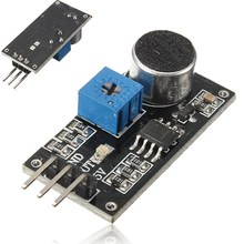 2017 Hot Sale Sound Sensor Detection Module LM393 Chip Electret Microphone For Arduino