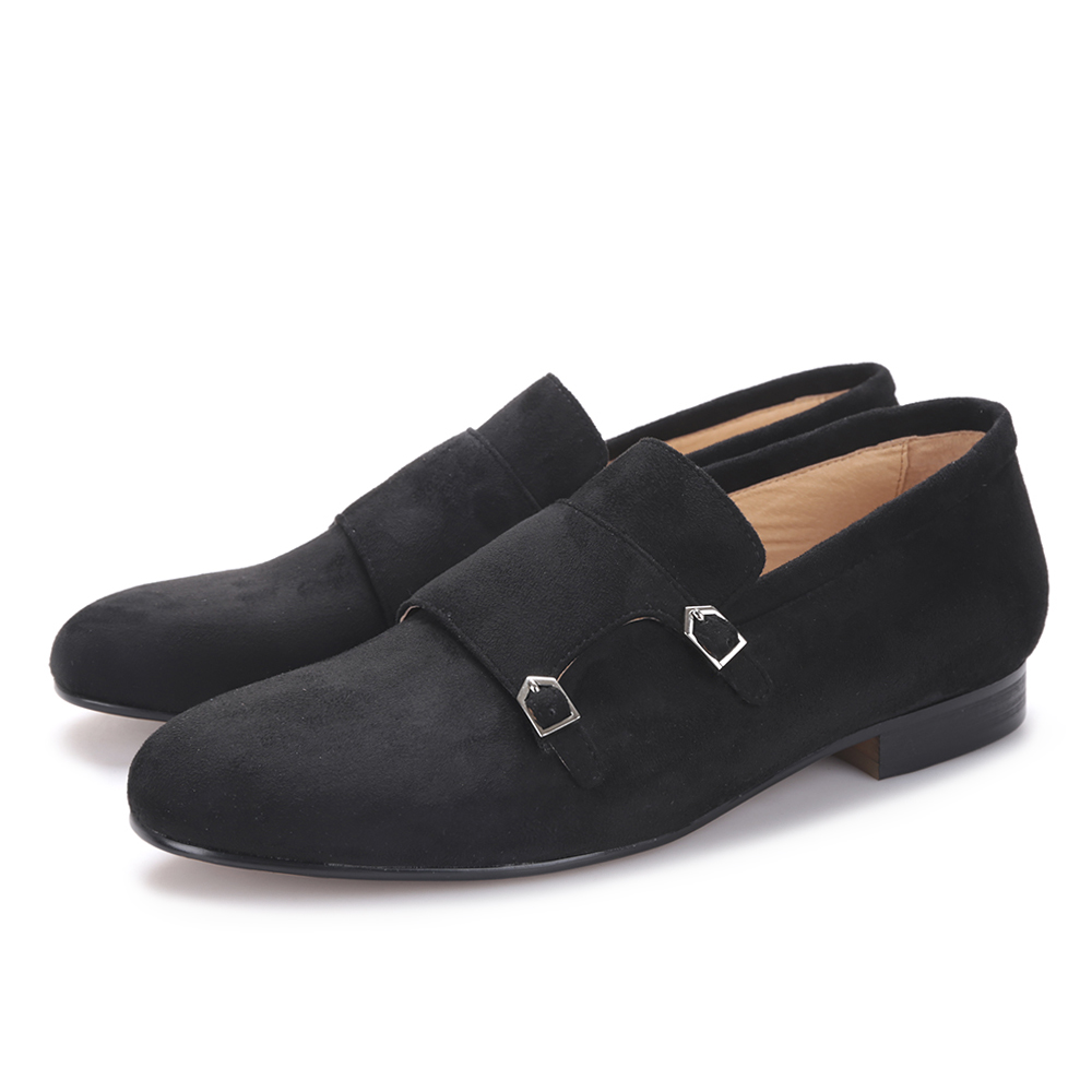 Piergitar 2018 men velvet shoe with velvet Hasp Party and Banquet men casual shoes British style men fashion loafers Plus size