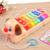 Nova Chegada Do Presente Do Bebê Brinquedo Instrumento Musical de Piano 8 Teclas fácil de Jogar Jogo de Música Brinquedos Educativos Ferramenta de Aprendizagem Crianças Iluminai brinquedo