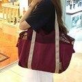 Moda portátil saco de ombro das mulheres das senhoras à prova d' água saco da praia de malha patchwork sacola bolsa feminina bolsa feminina