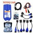 DHL Свободная 2015 ПОСЛЕДНИМ 4CD NEXIQ 125032 USB Link + Программное Обеспечение дизельное топливо Грузовой Диагностика NEXIQ USB Связь с Все Монтажников Nexiq НА ПРОДАЖА