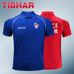 Tibhar натуральная Франция, национальная одежда для настольного тенниса, трикотажные изделия для мужчин и женщин, спортивная одежда для пинг-п...