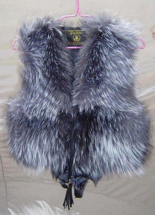 Cappotto Genuine Trasporto Lusso Libera Donne Fur Natural Della Fox Reale Sportiva Giacca Sliver Molla Tuta Di Vest nRSxqE7