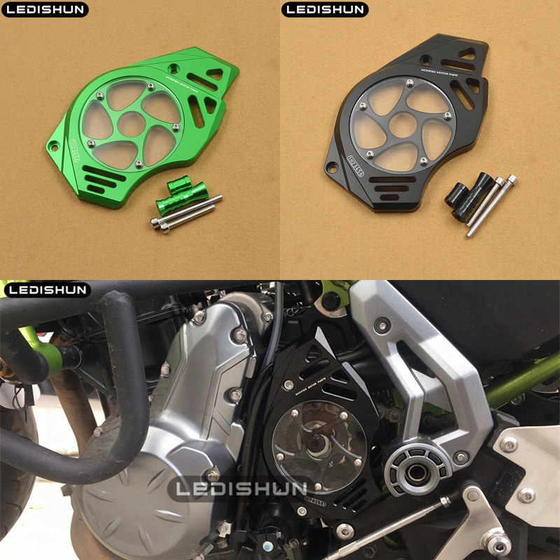 Sepeda Motor Depan Sproket Rantai Penutup Mesin untuk Kawasaki ER-6N ER-6F ER-4F Versys 650 VN650 (Vulcan S) ER6N