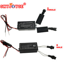 SKYJOYCE 1X Car Daytime Running Light CCFL Inverter ballast 60-180MM CCFL Angel Eyes Light Halo Ring Spare driver Ballast box(China)
