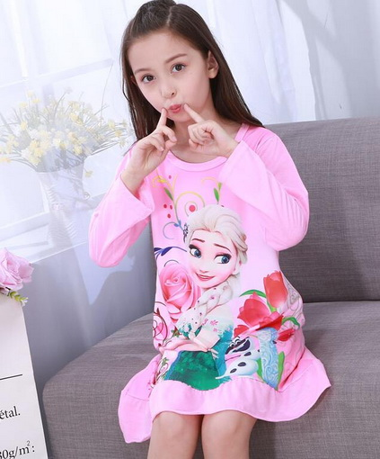 83c70de09e69b Free shipping on Nightgowns in Sleepwear & Robes, Girls' Clothing ...