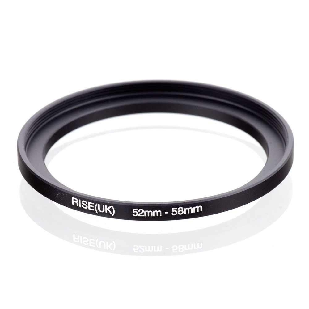 Originele RISE (UK) 52mm-58mm 52-58mm 52 tot 58 Step Up Ring Filter Adapter black