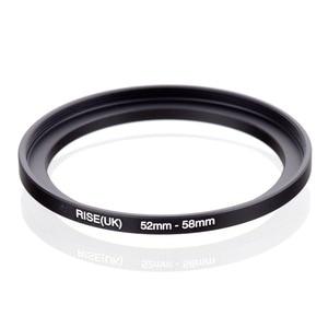 Image 1 - Оригинальный черный повышающий кольцевой фильтр адаптер RISE (Великобритания) 52 мм 58 мм 52 58 мм от 52 до 58