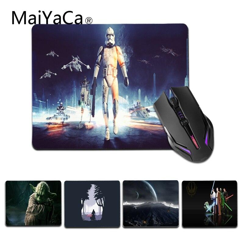 Maiyaca Мода Звездные войны геймер Скорость мыши розничной маленький резиновый коврик Размеры для 180x220x2 мм и 250x290x2 мм небольшой коврик