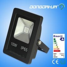 Датчик движения прожекторы 10 Вт 20 Вт Прожекторы IP65 85-265 В Теплый/Холодный белый/красный/Синий/Зеленый/Желтый