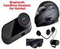 (1 conjunto) Fones de Ouvido Bluetooth Sem Fio À Prova D' Água BT Capacetes Da Motocicleta Controle De Fone De Ouvido Para MP3/4 & Radio & iPod Marca TOM-02