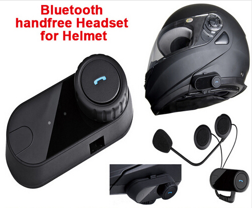 (1set) Waterproof BT Wireless Bluetooth Headsets Motorcycle Helmets Headphone Control For MP3/4&Radio&iPod Brand TOM-02