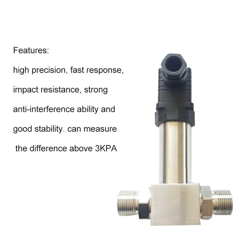 Trasmettitore di Pressione Differenziale integrato Sensore di Livello del Liquido Contenitore Sigillato Misurazione del Livello del Liquido 4 ~ 20MA