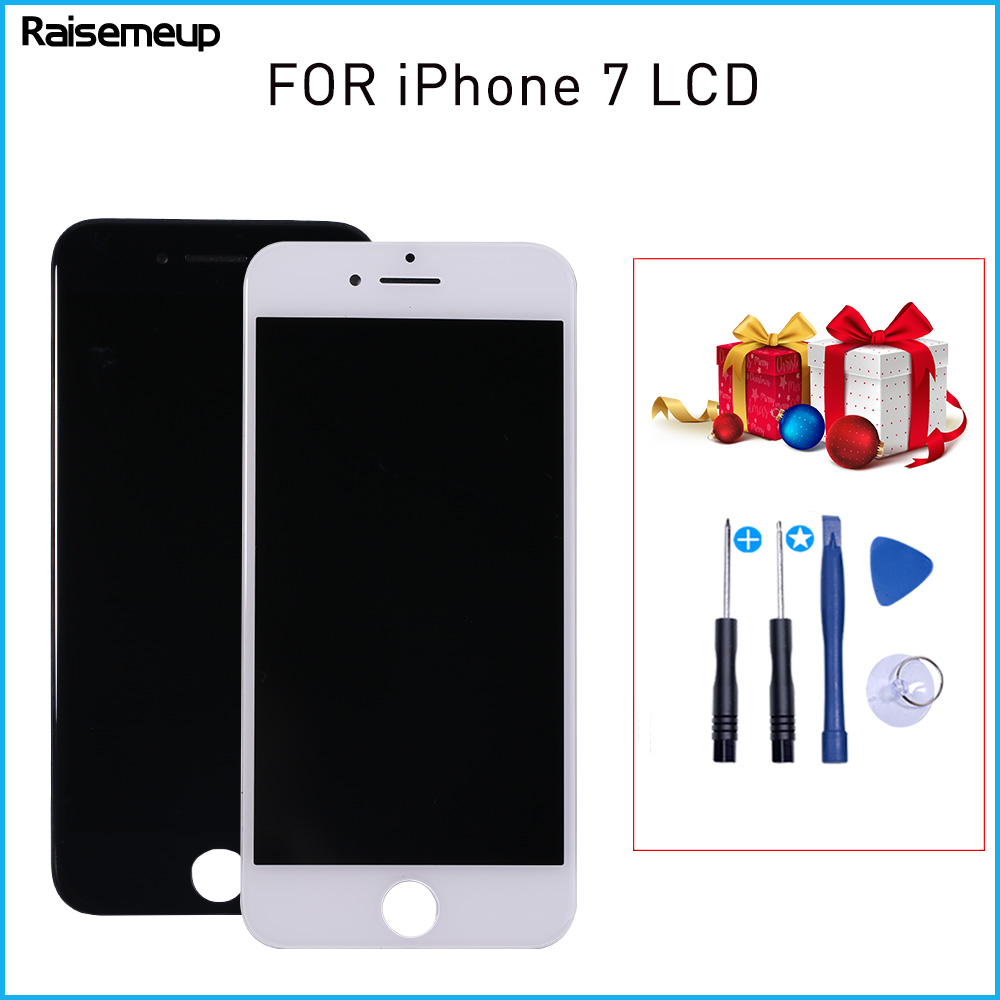 LCD Replacement display Parts For iphone 7 Touch Capacitive AAA Quality Digitizer Assembly for A1660 <font><b>A1778</b></font> A1779 No Dead Pixel image
