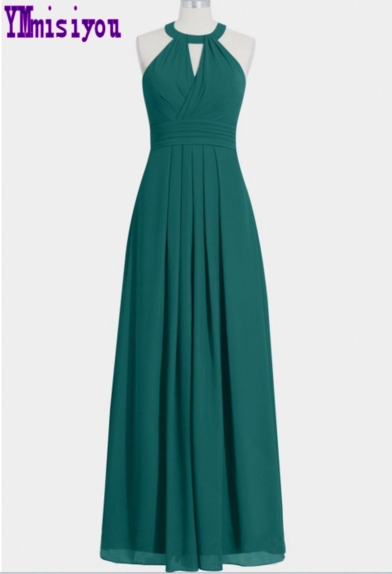 Chiffon Bridesmaid Dresses Long 2018 New Designer Chiffon ...