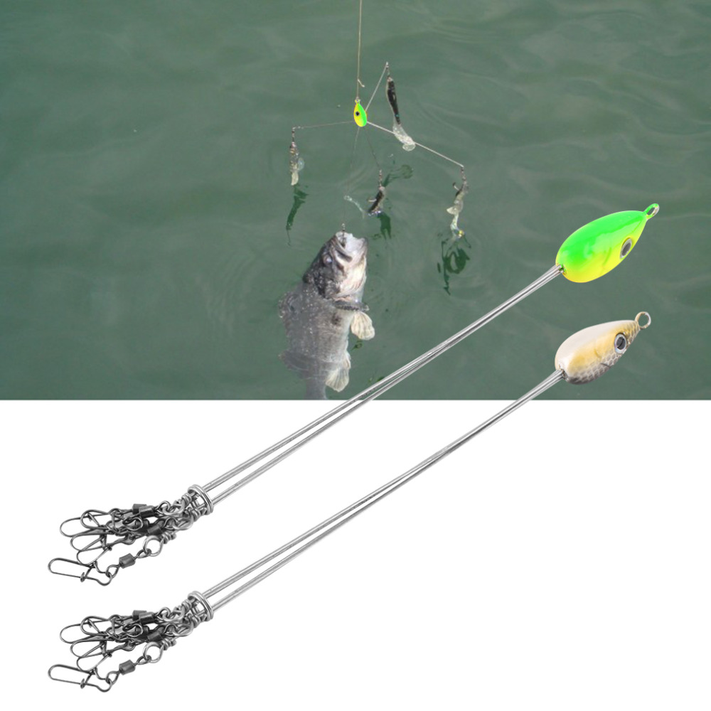 Outdoors 17cm convenient fish lures fishing hook stainless for Fish and tackle