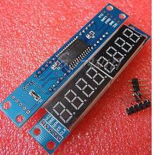 цена на MAX7219 EWG 8-Digit Digital Tube Display Control Module Red