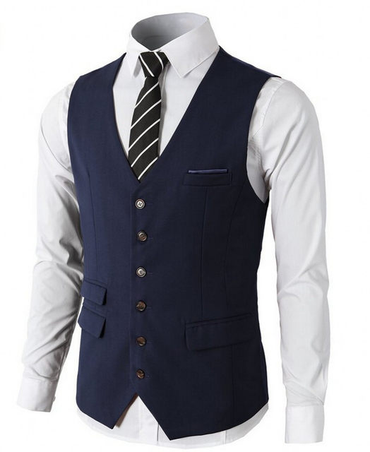 Online Shop Navy Burgundy Black Groom Vests Groom Tuxedos Groomsmen ...
